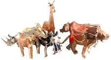 Fair Trade South African Recycled Metal Work Animal Sculpture Animal Elephant
