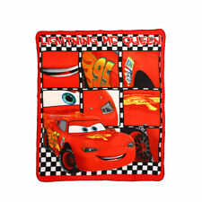 DISNEY plaid polaire couverture CARS rouge 120 x 140 cm NEUF