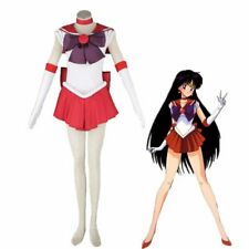 Athemis Anime Sailor Moon Rei Hino / Sailor Mars Cosplay Costume custom made