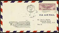 1930 FIRST FLIGHT ON NEW YORK - ATLANTA ROUTE - GREENVILLE, SC - C12  (ESP#1314)