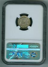 KOREA KM11(1907) 10 CHON SILVER DRAGON NGC UNC DETAILS SURFACE HAIRLINES