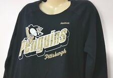 Reebok NHL Women's Jersey Pittsburgh Penguins Large Hockey Black