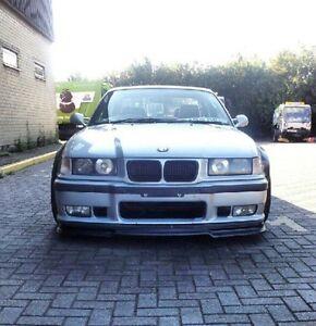bmw e36 M3 GTR front spoiler bumper performance splitter valance lip
