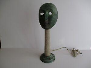 Seguso Vetri d'Arte Table Lamp by Elin Raaberg Nielsen SCULPTURE MODERNIST RARE