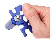 Decorative Essential Oil Roller Ball Bottle Opener - 1 (METAL) Blue Key Tool