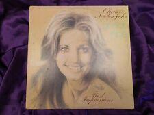 Olivia Newton John First Impressions Vintage Vinyl LP 1974 L35375 VG+/VG+