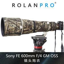 ROLANPRO Nylon Waterproof Lens Coat for Sony FE 600mm F/4 GM OSS Protective Case