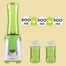 Domo Standmixer - Smoothie-Maker DO 436 BL My Blender grün - 3 Trinkflaschen