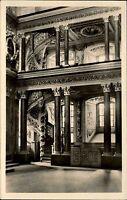 Eisenberg Thüringen DDR s/w AK 1957 Inneres der Schloßkirche Treppe zur Galerie
