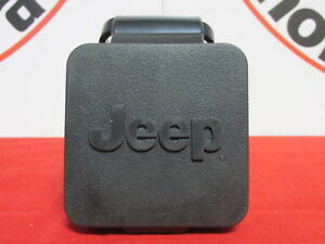 JEEP Trailer hitch reciever plug cover W/Logo 2 inch NEW OEM MOPAR