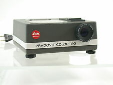 Leica pradovit color 110 Minox 8x11 rara vez rare slide projector/16