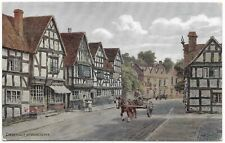 Ombersley nr Worcester by A R Quinton - Salmon 3101 unused