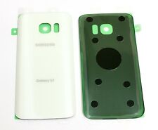 OEM Battery Back cover Glass For Samsung Galaxy S7 G930 for All Carriers ~ WHITE
