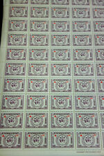 Laos Stamps # 71-3+ # B8-10 NH Complete set of Sheets Scott Value $250.00