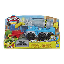Play-Doh Wheels Cement Truck Toy 3 Play Doh Pots