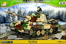 COBI PzKpfw VI Ausf. B Konigstiger (2540) - 1000 elem. - WWII German heavy tank