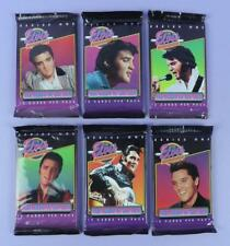 Elvis Presley -The Elvis Collection Series 1,  6 Different Design Unopened Packs