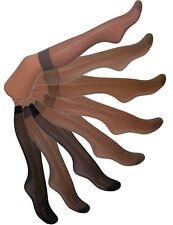15 Denier Pop Socks / Knee Highs 10 Pairs (choice of colours)