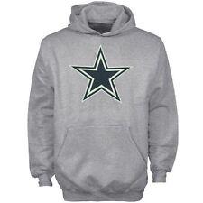 Dallas Cowboys Youth Logo Premier Hooded Sweatshirt Gray Youth M 6a5a146ac
