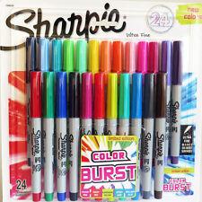 Sharpie Color Burst Permanent Marker Ultra Fine 24 Pack Assorted