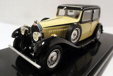 Luxcar Bugatti t49 1934 Beige/Nero Limited 500 Pcs. NUOVO OVP 1:43
