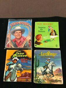 Autry Lassie Western Lone Ranger Whitman 1960's Tell Tale Book Lot x12 (Lot 5)
