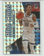 2019-20 Mosaic Blue Chips Ja Morant Silver Mosaic Prizm Rookie Insert Card #10