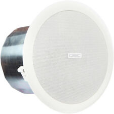 "QSC AC-C6T 6"" Two-Way Ceiling Speaker Pair 70V / 100V / 8 Ohm   Pair is Sold (2)"