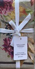 Williams-Sonoma Harvest Bloom Napkins Set/4