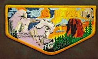 CRAZY HORSE OA LODGE 171 BSA BLACK HILLS AREA COUNCIL PATCH 2017 JAMBOREE FLAP