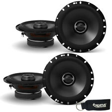 "Alpine S-S65 6.5"" Speaker Bundle Two Pairs of 2 way Coaxial Speakers"