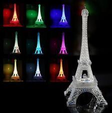 Bedroom 3D Illusion Bulbing Night 7 Color Change Decor Table Desk Lamp LED Light