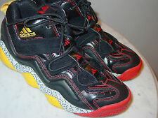 662237dc21de 2012 Adidas Top Ten 2000 G56192 Black Sunshine Red Youth Shoes! Size 6Y