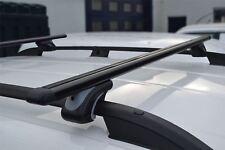 Pour s'Adapter 2015+ VW Volkswagen Caddy rails de toit de verrouillage Poignée Barres transversales + T pièces