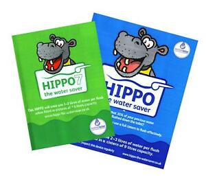 Hippo Toilet Water Saver 7 or 9 Litre Cistern, Energy Water Saving Reduce Bills