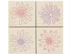 "HERO ARTS ""KALEIOSCOPE  FLOWERS"" RUBBER STAMP SET"