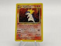 Typhlosion 18/111 1st Edition Neo Genesis Holo Rare Pokemon Card GOOD Condition