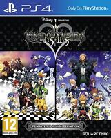 Kingdom Hearts HD 1.5 and 2.5 Remix PS4 Disney Game NEW