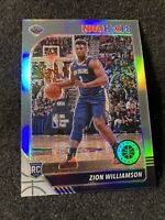 2020 NBA Hoops Premium Stock ZION WILLIAMSON Pure Silver Prizm Rookie Card RC SP