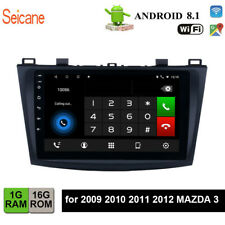 Android 8.1Car GPS Navi Radio Multimedia Player for 2009 2010 2011 2012 MAZDA 3