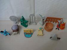Around The World Series-ROMA DECORAZIONI PER TORTA 12 Figure in plastica e regalo gratuito