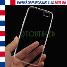 COQUE PROTECTION SOUPLE TPU TRANSPARENTE APPLE IPHONE 6 6S ENVOI DE FRANCE SUIVI