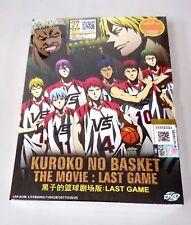 KUROKO NO BASKET: LAST GAME The Complete Japanese Anime Movie DVD Box Set
