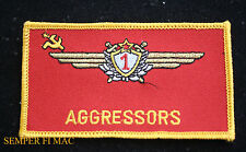 US AIR FORCE SOVIET USSR 1ST CLASS PILOT WING AGGRESSORS NELLIS AFB PATCH ACC