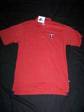 Majestic Men's Minnesota Twins Polo Shirt NWT Medium