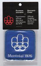 Orig.Aufnäher     Olympische Spiele MONTREAL 1976  //  OFF.LOGO (blau)  !!  TOP