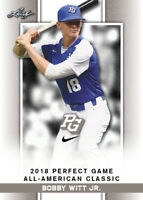 2018 Leaf Perfect Game Nike AA Classic 52 Card Complete Set Witt Abrams RC LE SP