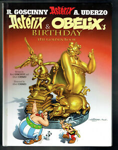 Asterix & Obelix's Birthday by R. Goscinny & A. Uderzo 2009 Hardcover in English