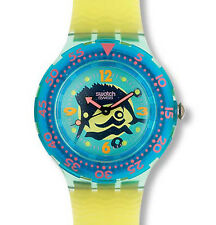 "SWATCH SCUBA 200 ""SWORD FISH"" (SDG101) NEU, OVP"