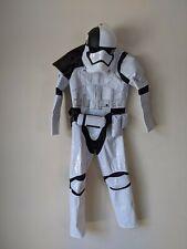 Disney Delux Star Wars Stormtrooper Fancy Dress  Cosplay Age 7-8 Inc Helmet